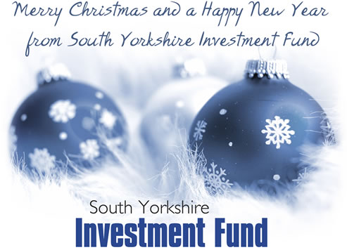 Merry Christmas and a Happy New Year from South Yorkshire Investment Fund